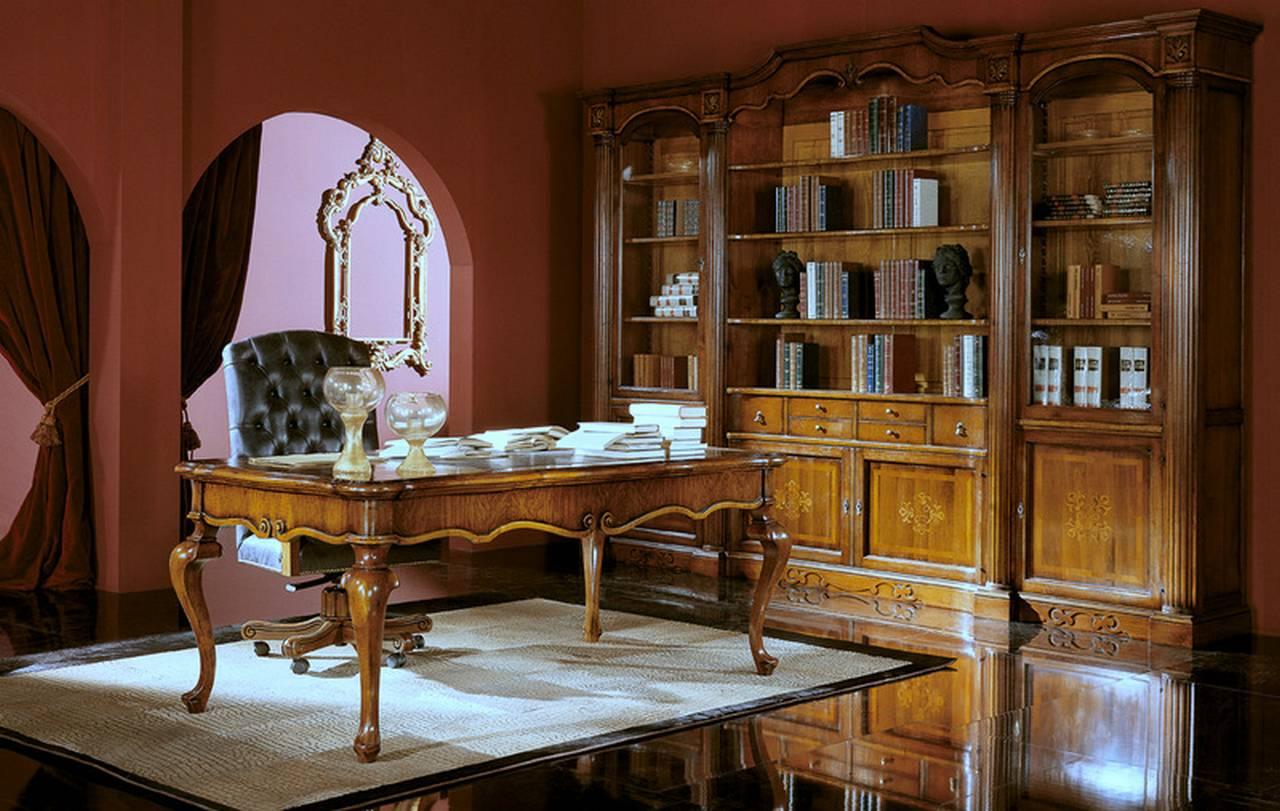 Soggiorni in legno massello classici - Soggiorni su misura a Verona
