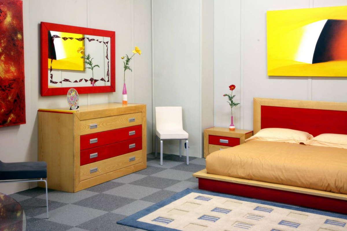 Mobili in legno massello per camere moderne - Arredamenti moderni